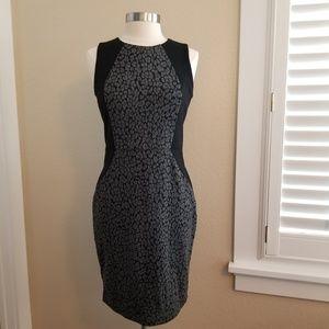 Loft Sleeveless Illusion Dress~NWT~sz 6